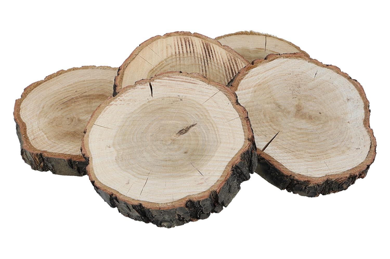 Holzscheiben D12-14cm, Ve. 6 Stk (#130024000)