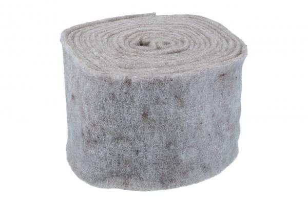 Topfband 15cm, 5m, Taupe-Grau