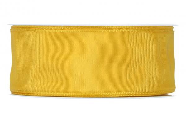 Formb. Drahtkantenband 40mm, 25m, gelb