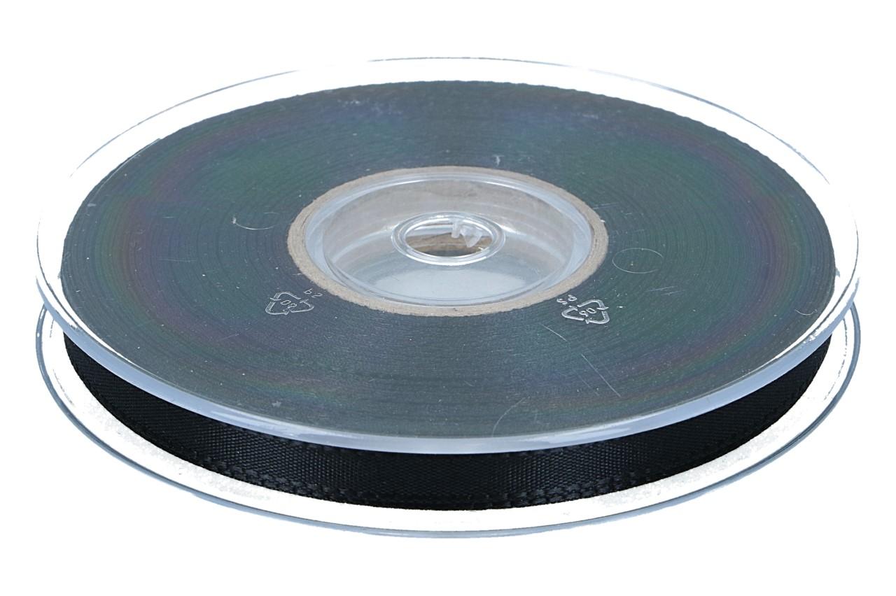 Dekoband Economy,10mm, 50m, schwarz