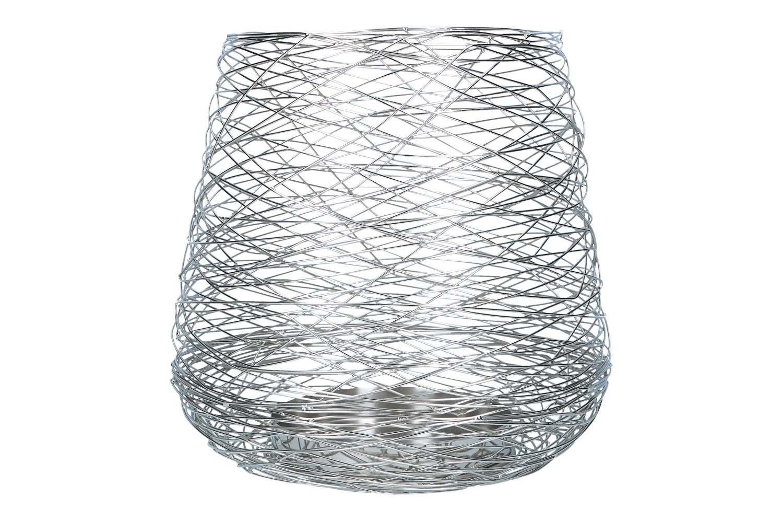 Windlicht aus Draht D34,5 H42cm, Ve.1Stk (#153164053)