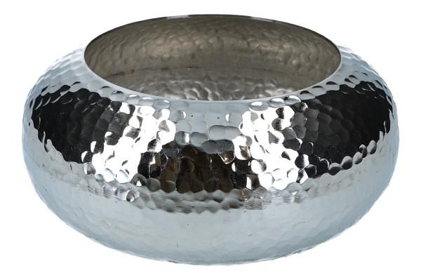 Metallschale Ø 28cm, H 13,5cm, 1 Stück