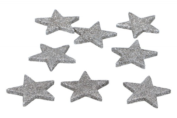 Glietter Sterne zum Streuen, 5cm,
