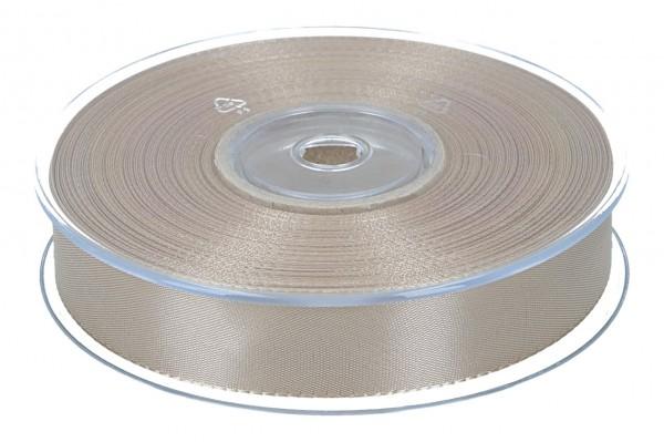 Dekoband Economy 25mm, 50m, braun-gold