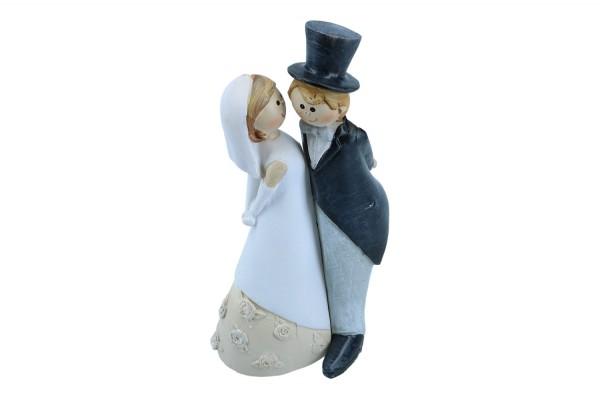 Braut und Bräutigam 14cm, 1 Paar