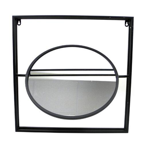 Spiegel im Metallrahmen 40x40cm, Ve.1Stk (#153822000)
