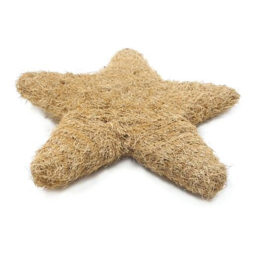 Stern aus Sisal Ø38cm, Höhe 4cm, 1 Stück