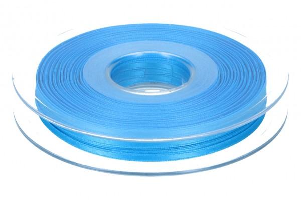 Satinband 3mm, 50m, blau