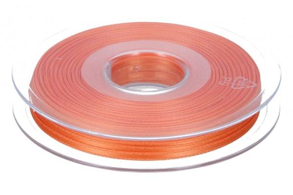 Satinband 3mm, 50m, pfirsich