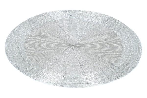 Tischset Ø 35cm, silber, 1 Stück