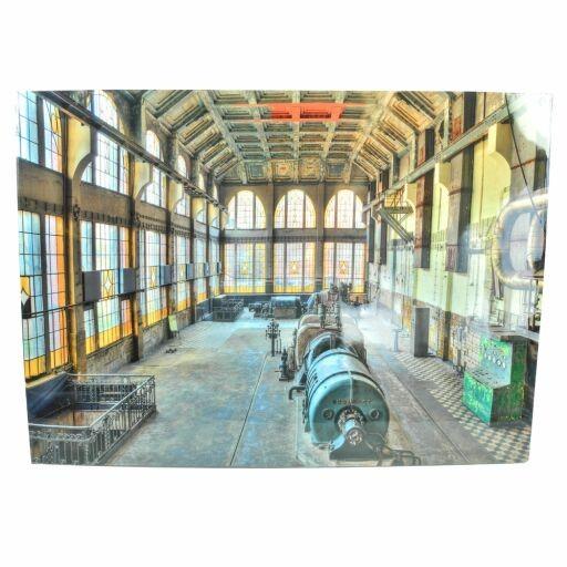 Bild Maschinenhalle 70x50x2cm, 1 Stück