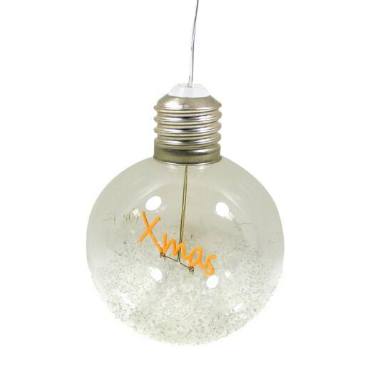 Glühbirne zum hängen 'XMAS' Ve. 1 Stk (#100298000)