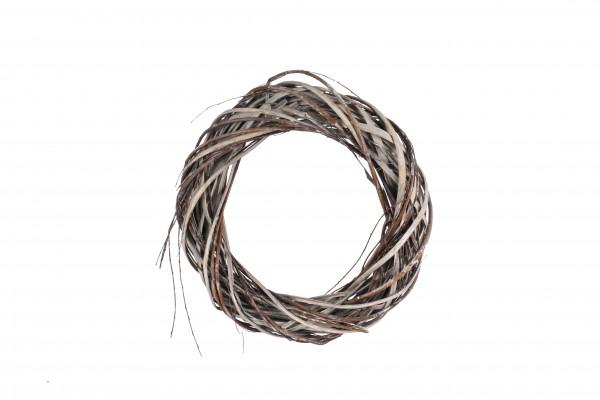 Weide/Splitt Kranz D25 H6cm, Ve. 1 Stk