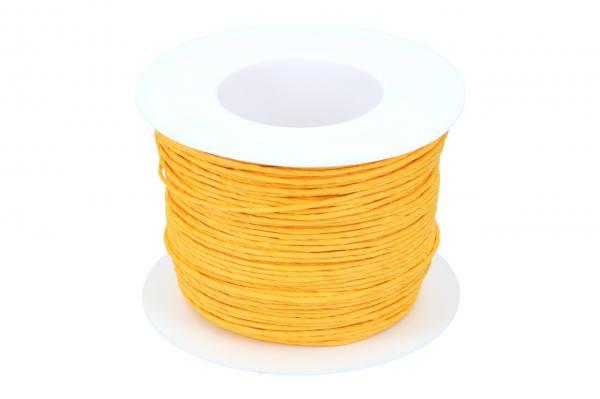 Papierkordel 2mm, 100m, gelb