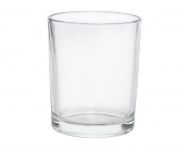 Teelichtglas 5 x 6,5cm, 1 Stück
