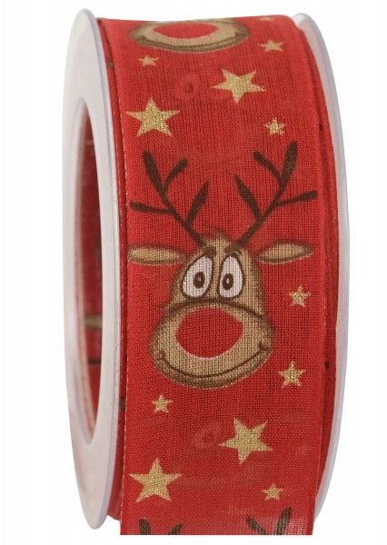 Band Red Nose Rudi, 40mm, 1 Rll = 20m