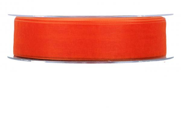 Beauty Organdy Band 25mm, 50m, orange