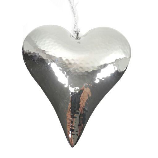 Herzhänger gehämmert 13x16cm, Ve. 1 (#152991000)