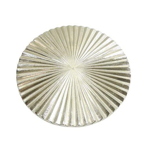 Alu-Wanddeko rund D26cm, 1 Stück