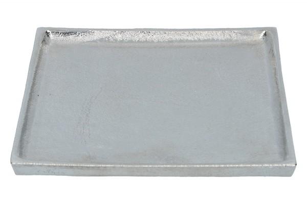 Tablett Alu 20cm x 20cm, 1 Stück