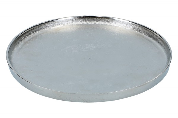 Teller Ø 40cm, vernickelt, 1 Stück