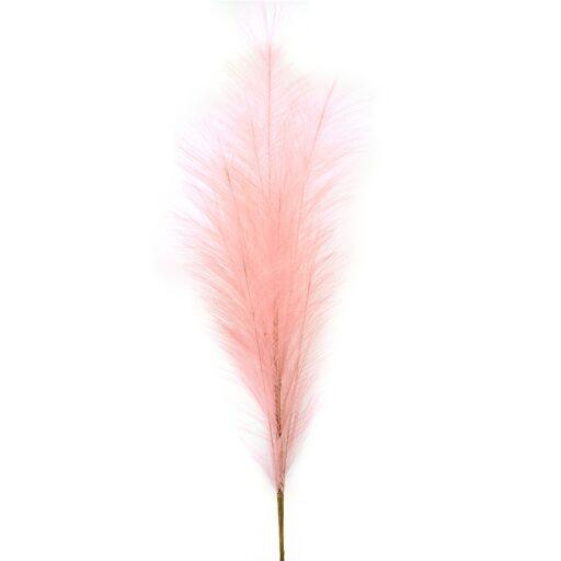 Feder Zweig, Länge 99cm, rosa, 1 Stück