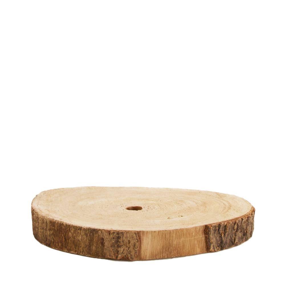 Scheibe aus Paulownia-Holz D20 H3cm