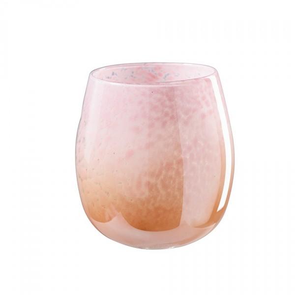 Glastopf oval Ø15cm, Höhe 17cm, 1 Stück
