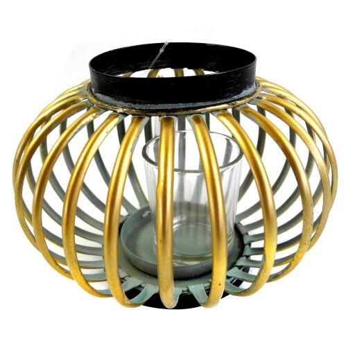 Windlicht mit Glaseinsatz,18 x 18 x 13cm