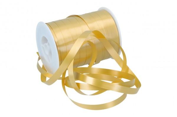 Kräuselbast farbig 10mm x 250m 06 gold