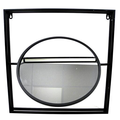 Spiegel im Metallrahmen 50x50cm, Ve.1Stk (#153823000)