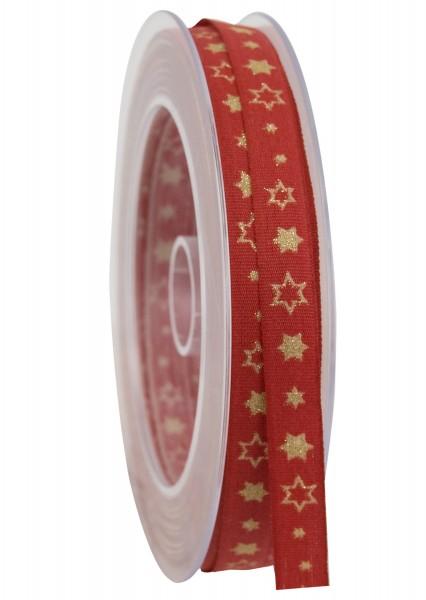 Band Glitzersternchen 10mm, 1 Rll = 20m