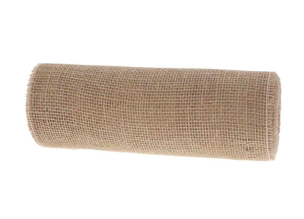 Tischband aus Jute B30cm L10m, Ve. 1Rll