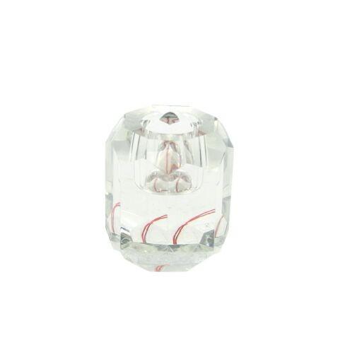 Kristallkerzenhalter D5H6cm, 2 Stück