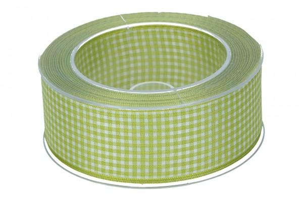 Band Vichy 40mm, 50m, limone