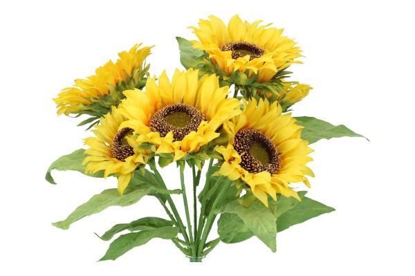 Sonnenblumen-Busch 42cm, 1 Busch