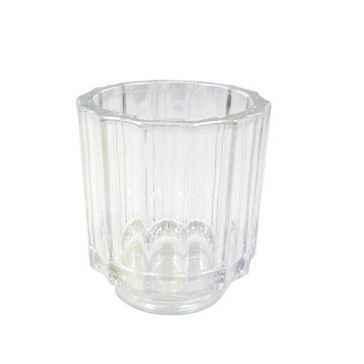 Teelichthalter D7,8 H8,5cm, 1Pack=4Stück