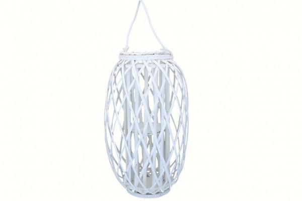 Laterne aus Bambus mit Glaseinsatz, Ve.1 (#138575044)