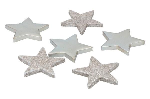 Glietter Sterne zum Streuen, 7cm,