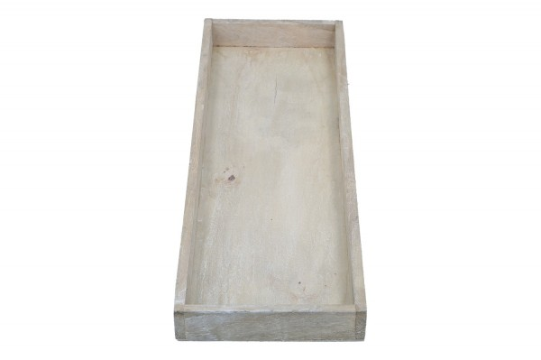 Holztablett 42 x14 cm, Höhe 3cm, 1 Stück
