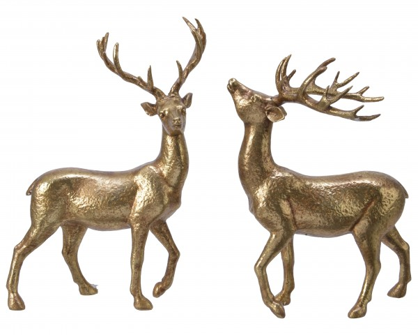 Hirsch 2fach sortiert, 22cm, 1 Stück