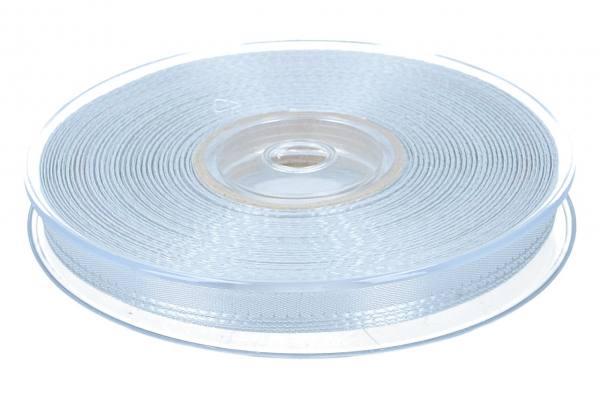 Dekoband Economy 10mm, 50m, silber/grau