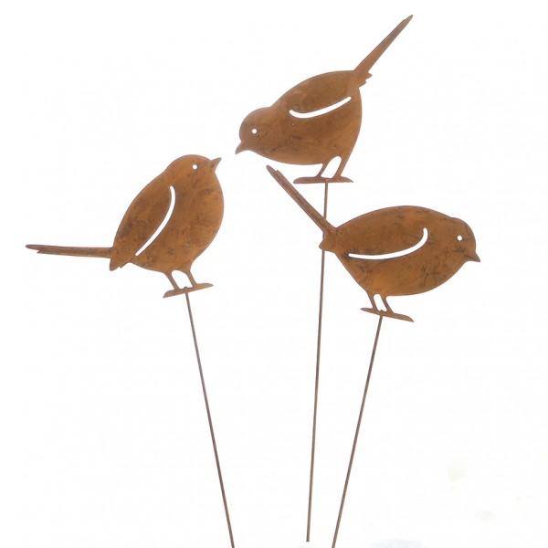 Pick Vogel 12 x H10cm L36cm, Ve. 1 Stk