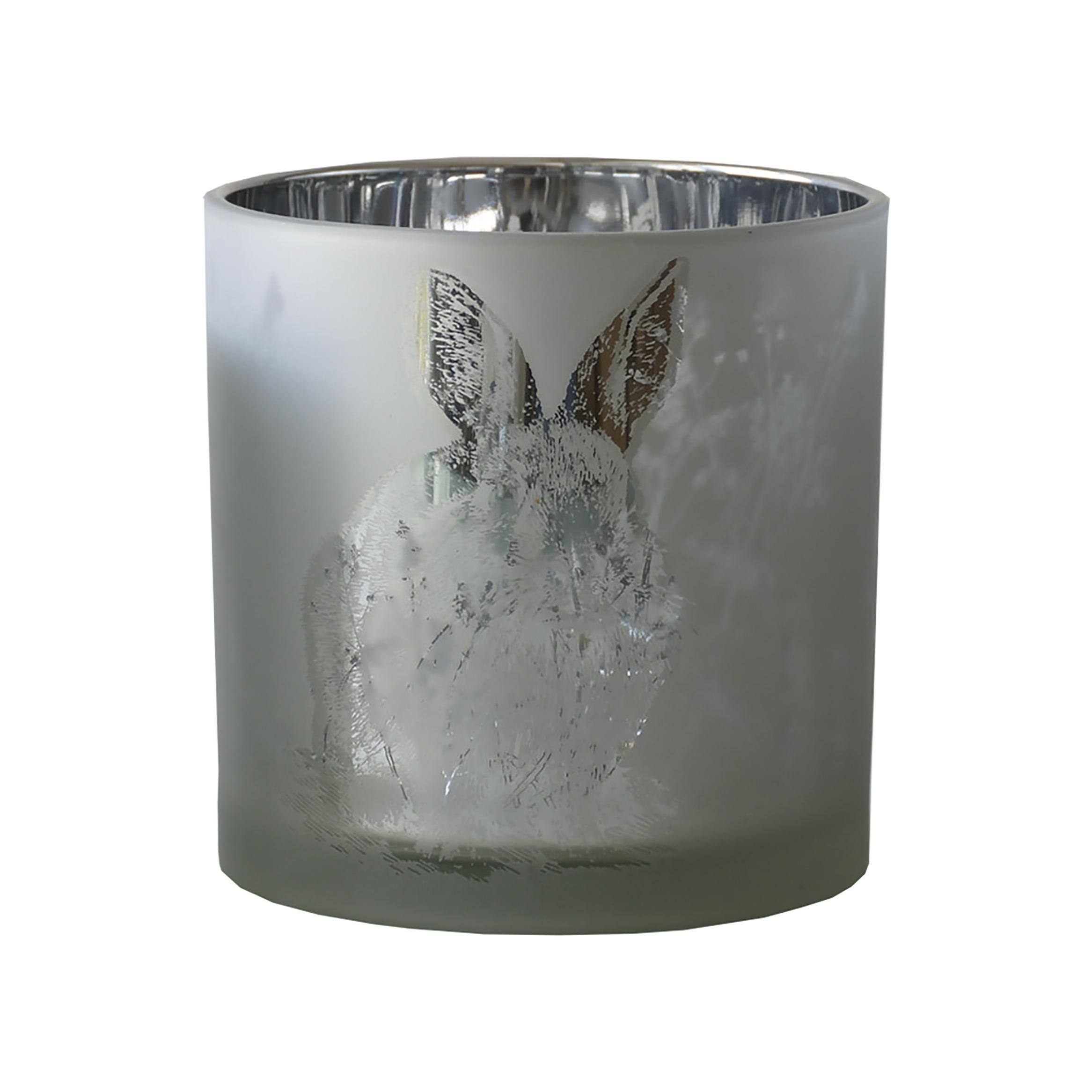 Teelicht 'Rabbit' D7,3 H 8cm, Ve. 1 Stk