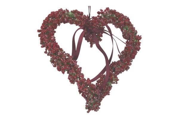 Herz mit Band 17cm, 1 Stück