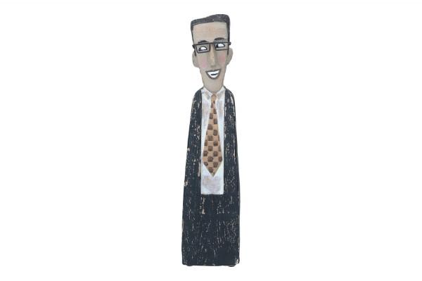 Herr mit Kravatte 40cm, 1 Stück