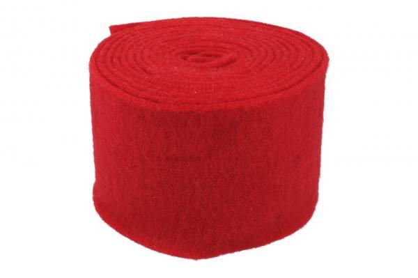 Topfband 15cm, 5m, dunkel rot