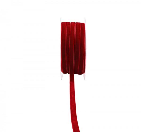 Band Velvet 10mm , 1 Rolle = 20m