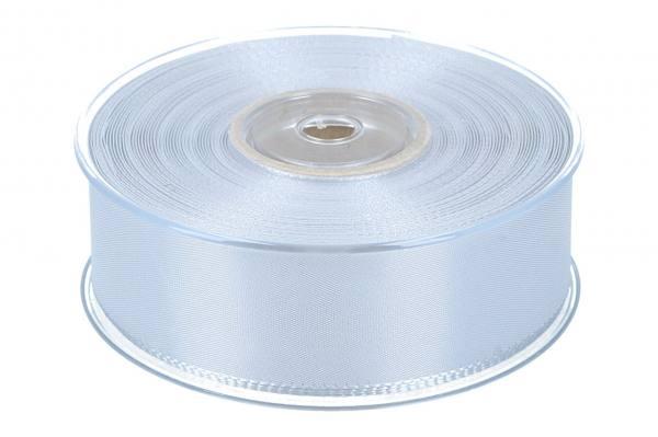 Dekoband Economy 40mm, 50m, silber/grau