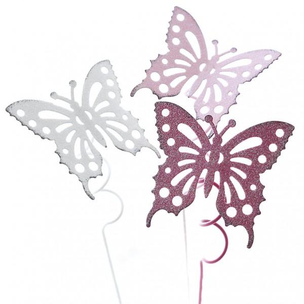 Pick 'Schmetterling' 7 x 26cm , Ve. 1